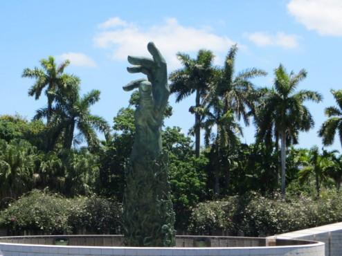 Das Holocaust-Mahnmal im jüdischen Teil von Miami