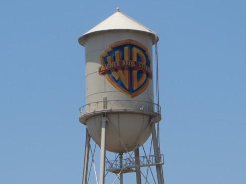 Wahrzeichen der Warner Bros. Studios: der Wasserturm