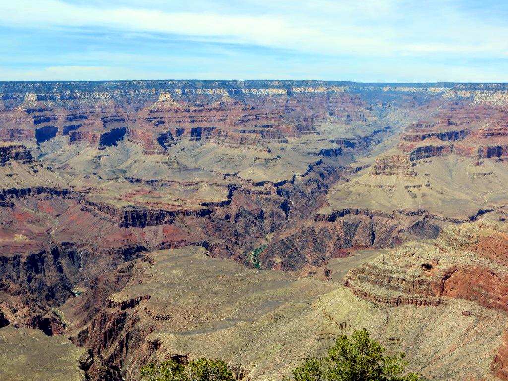 Der Grand Canyon - so weit das Auge reicht