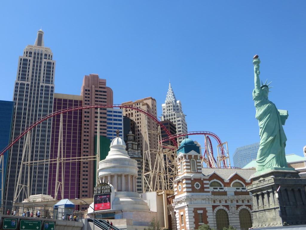 """Für das """"New York, New York"""" wurde die Skyline von Manhattan nachgebaut"""
