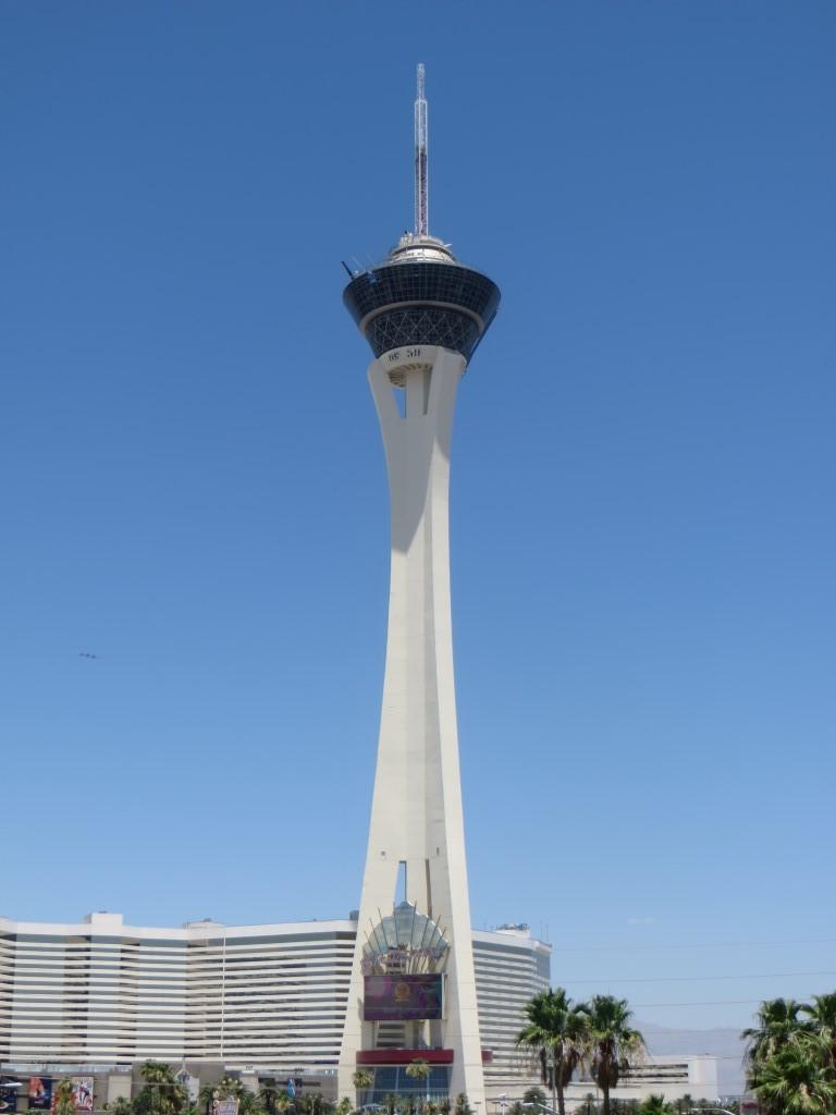 Der 350 Meter hohe Stratosphere Tower bietet einen tollen Ausblick