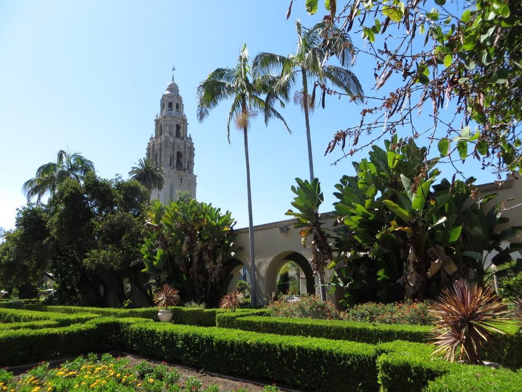 Der Balboa Park in San Diego ist mit fünf Quadratkilometern etwa 50 Prozent größer als der Central Park in New York