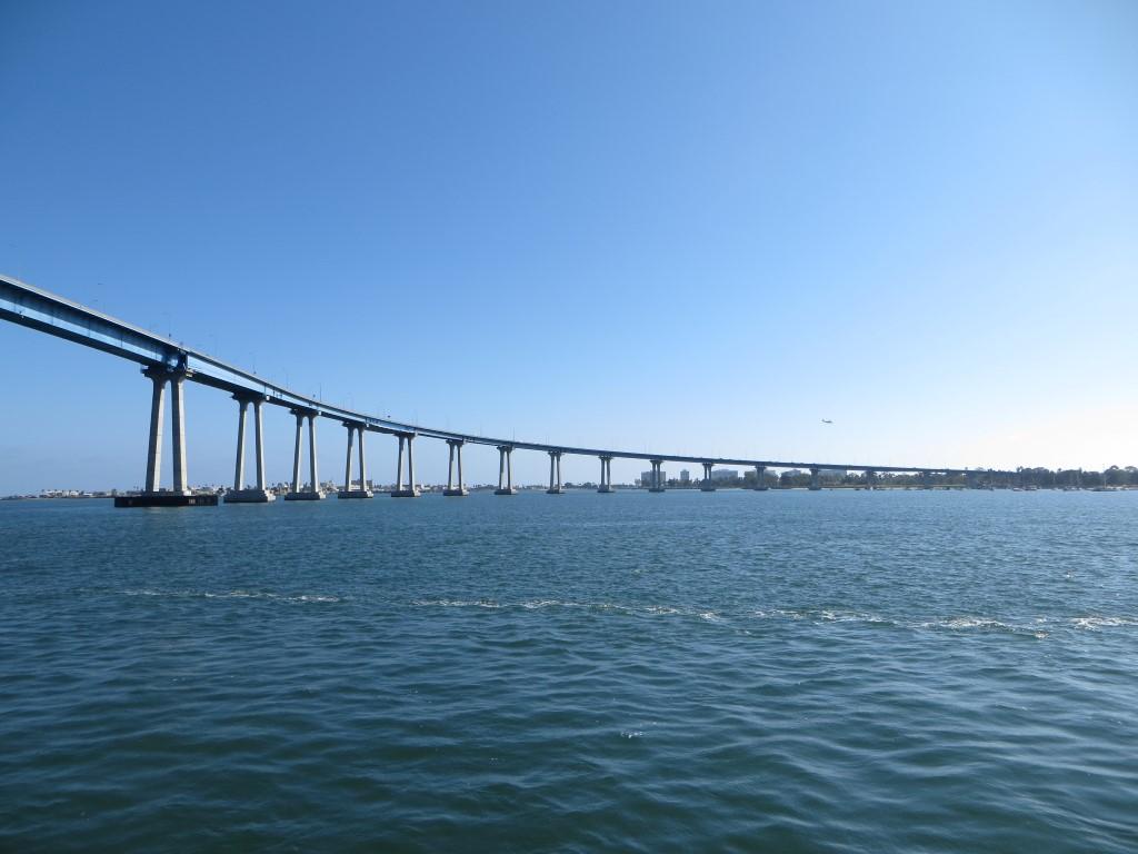 """Die """"San Diego Coronado Bay Bridge"""" verbindet San Diego mit der Halbinsel Coronado"""