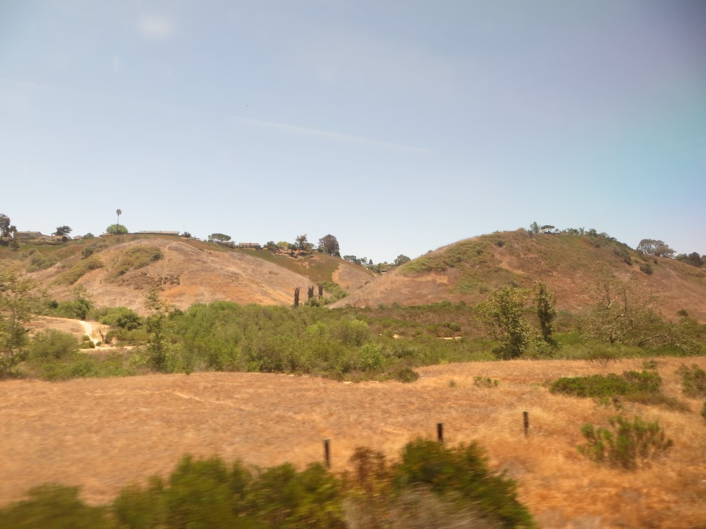 Auf der einen Seite wunderschöne Landschaften...