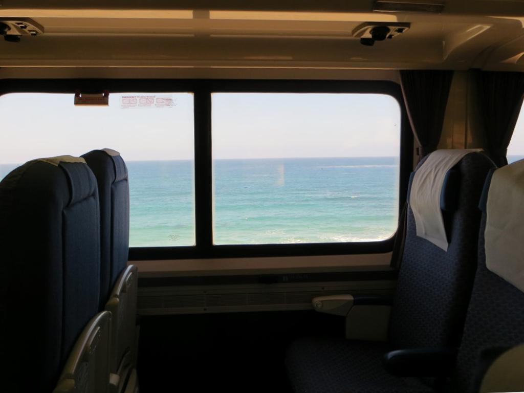 ...und auf der anderen Seite das Meer!