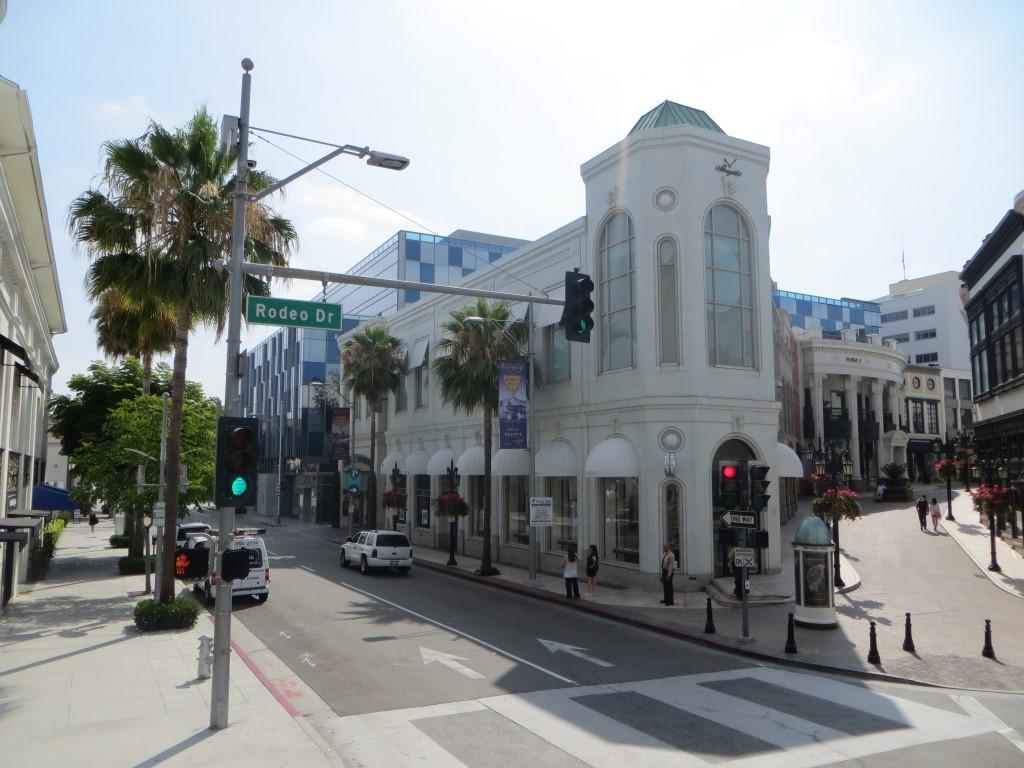 Der Rodeo Drive in Beverly Hills ist die teuerste Einkaufsstraße der Welt