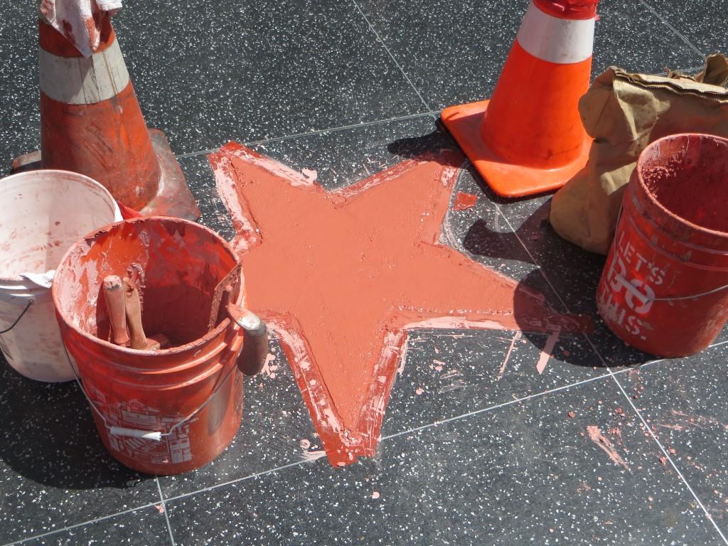 Wer hier demnächst wohl seinen Stern bekommt?