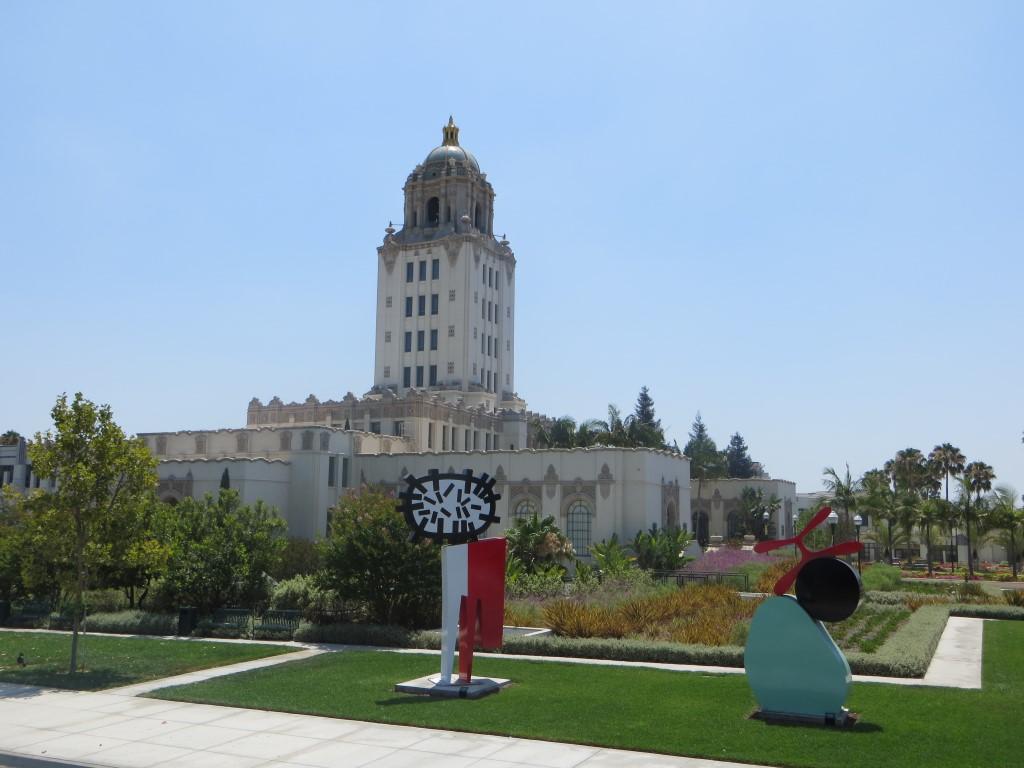 """Das Rathaus von Beverly Hills war u. a. das Polizeihauptquartier in """"Beverly Hills Cop"""""""