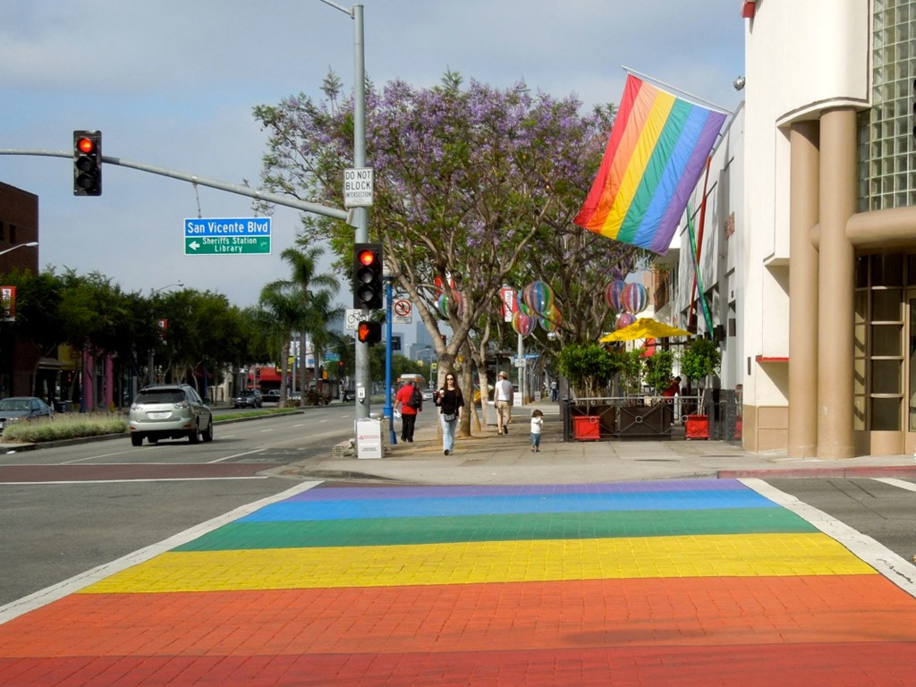 Nicht zu übersehen: West Hollywood ist das Zentrum der Schwulen und Lesben in Los Angeles