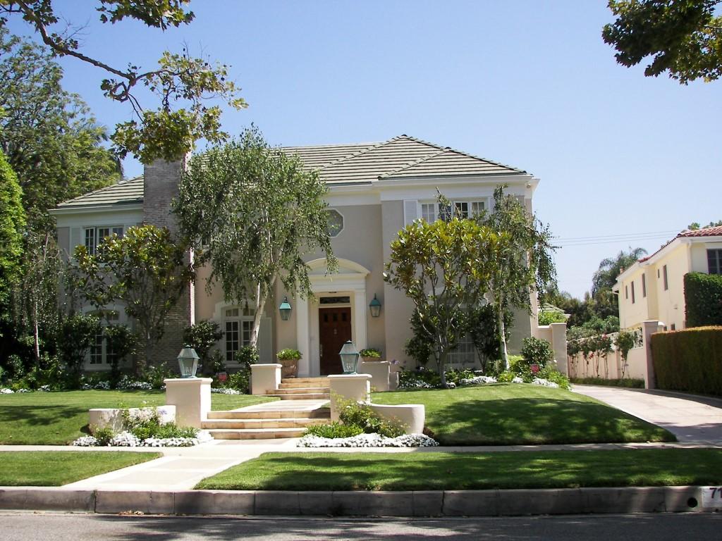 Eine der unzähligen Villen in Beverly Hills