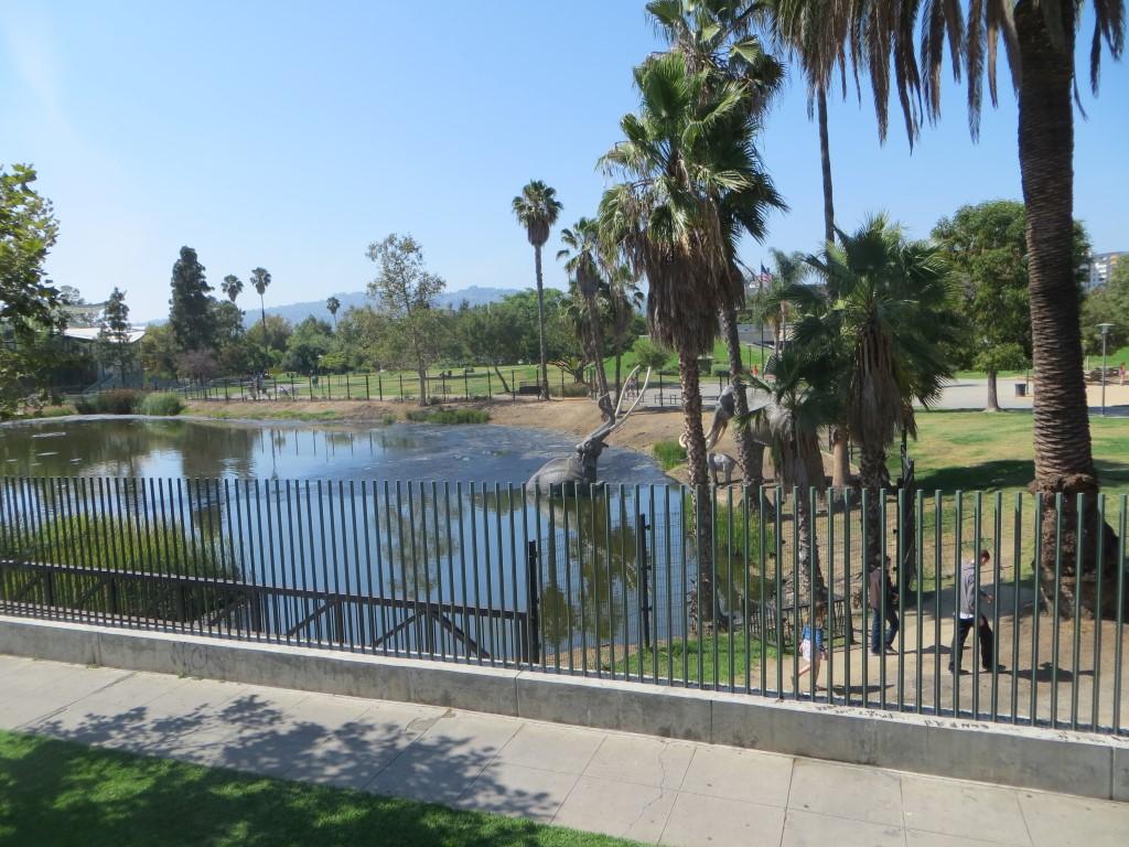 """Eine Teergrube mitten in Los Angeles: die """"La Brea Tar Pits"""""""