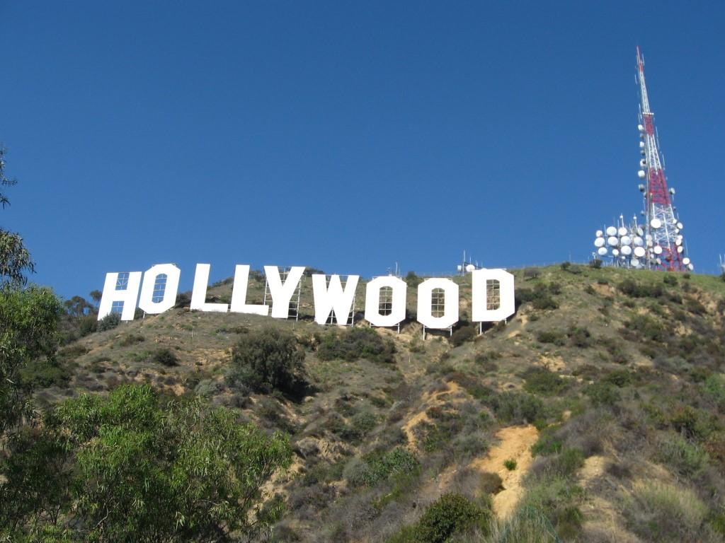 Eines der Wahrzeichen der Region Los Angeles: der Hollywood Schriftzug