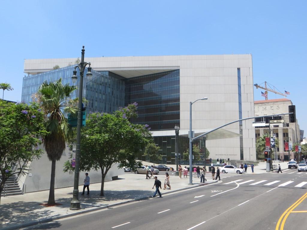 Für mich zählt das LAPD-Hauptquartier zu den beeindruckendsten Bauwerken in Los Angeles