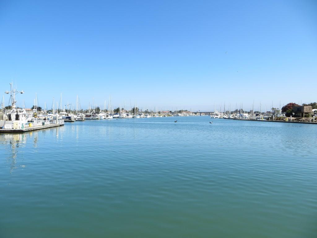 Im Hafen von Oxnard begann unsere knapp vierstündige Bootstour