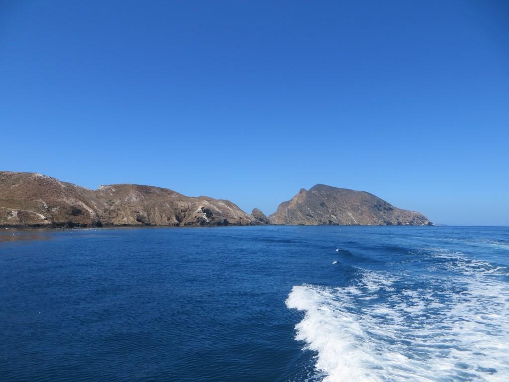 Anacapca ist mit drei Quadratkilometern die kleinste der Channel Islands